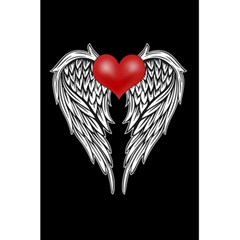 Angel Heart Tattoo 5 5  X 8 5  Notebooks by Valentinaart