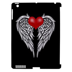 Angel Heart Tattoo Apple Ipad 3/4 Hardshell Case (compatible With Smart Cover) by Valentinaart