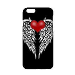 Angel Heart Tattoo Apple Iphone 6/6s Hardshell Case by Valentinaart