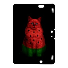 Watermelon Cat Kindle Fire Hdx 8 9  Hardshell Case by Valentinaart