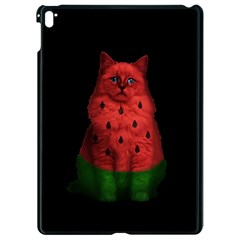 Watermelon Cat Apple Ipad Pro 9 7   Black Seamless Case by Valentinaart