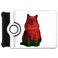 Watermelon Cat Kindle Fire Hd 7  by Valentinaart