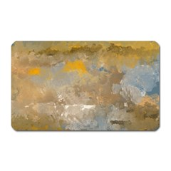 Sunset In The Mountains Magnet (rectangular) by digitaldivadesigns
