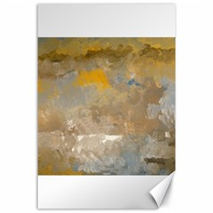 Sunset In The Mountains Canvas 24  X 36  by digitaldivadesigns