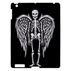 Angel Skeleton Apple Ipad 3/4 Hardshell Case by Valentinaart