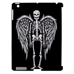 Angel Skeleton Apple Ipad 3/4 Hardshell Case (compatible With Smart Cover) by Valentinaart