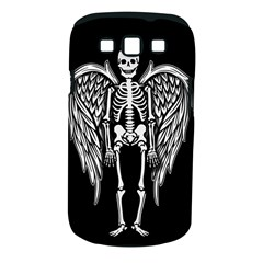 Angel Skeleton Samsung Galaxy S Iii Classic Hardshell Case (pc+silicone) by Valentinaart