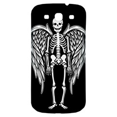 Angel Skeleton Samsung Galaxy S3 S Iii Classic Hardshell Back Case by Valentinaart