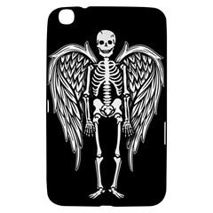 Angel Skeleton Samsung Galaxy Tab 3 (8 ) T3100 Hardshell Case  by Valentinaart