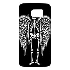 Angel Skeleton Galaxy S6 by Valentinaart