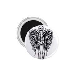 Angel Skeleton 1 75  Magnets by Valentinaart