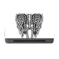 Angel Skeleton Memory Card Reader With Cf by Valentinaart