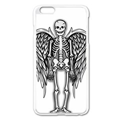 Angel Skeleton Apple Iphone 6 Plus/6s Plus Enamel White Case