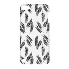 Feather Pattern Apple Ipod Touch 5 Hardshell Case by Valentinaart