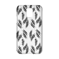 Feather Pattern Samsung Galaxy S5 Hardshell Case  by Valentinaart