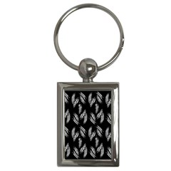 Feather Pattern Key Chains (rectangle)  by Valentinaart