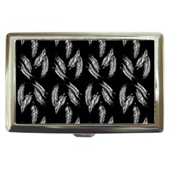 Feather Pattern Cigarette Money Cases by Valentinaart