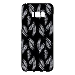 Feather Pattern Samsung Galaxy S8 Plus Hardshell Case  by Valentinaart