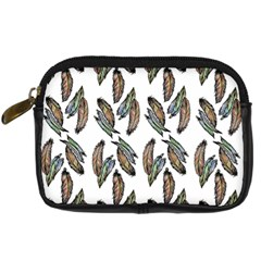 Feather Pattern Digital Camera Cases by Valentinaart