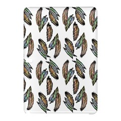 Feather Pattern Samsung Galaxy Tab Pro 12 2 Hardshell Case by Valentinaart