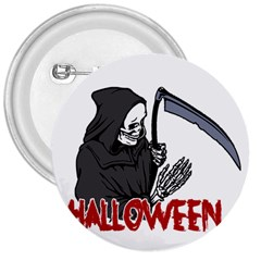Death   Halloween 3  Buttons by Valentinaart