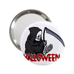 Death   Halloween 2 25  Handbag Mirrors by Valentinaart