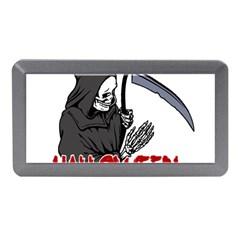 Death   Halloween Memory Card Reader (mini) by Valentinaart