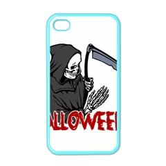 Death   Halloween Apple Iphone 4 Case (color) by Valentinaart