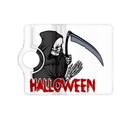 Death   Halloween Kindle Fire Hd (2013) Flip 360 Case by Valentinaart