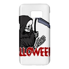 Death   Halloween Samsung Galaxy S7 Hardshell Case  by Valentinaart