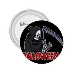 Death   Halloween 2 25  Buttons by Valentinaart