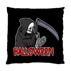 Death   Halloween Standard Cushion Case (one Side) by Valentinaart