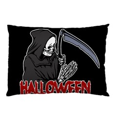 Death   Halloween Pillow Case by Valentinaart