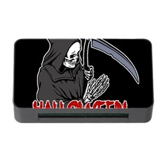 Death   Halloween Memory Card Reader With Cf by Valentinaart