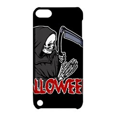 Death   Halloween Apple Ipod Touch 5 Hardshell Case With Stand by Valentinaart