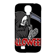 Death   Halloween Samsung Galaxy S4 Classic Hardshell Case (pc+silicone) by Valentinaart