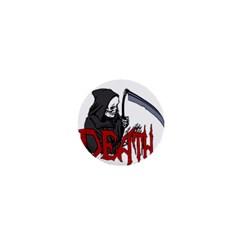 Death   Halloween 1  Mini Buttons by Valentinaart
