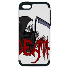 Death   Halloween Apple Iphone 5 Hardshell Case (pc+silicone) by Valentinaart