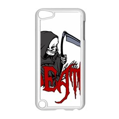 Death   Halloween Apple Ipod Touch 5 Case (white) by Valentinaart