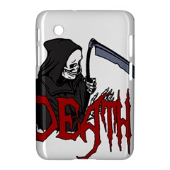 Death   Halloween Samsung Galaxy Tab 2 (7 ) P3100 Hardshell Case  by Valentinaart