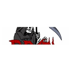 Death   Halloween Satin Scarf (oblong) by Valentinaart