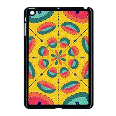 Textured Tropical Mandala Apple Ipad Mini Case (black) by linceazul