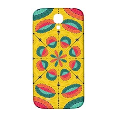 Textured Tropical Mandala Samsung Galaxy S4 I9500/i9505  Hardshell Back Case by linceazul