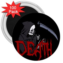 Death   Halloween 3  Magnets (100 Pack) by Valentinaart