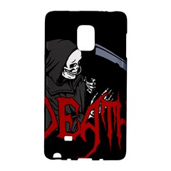 Death   Halloween Galaxy Note Edge by Valentinaart