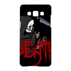 Death   Halloween Samsung Galaxy A5 Hardshell Case  by Valentinaart