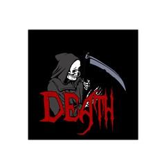 Death   Halloween Satin Bandana Scarf by Valentinaart