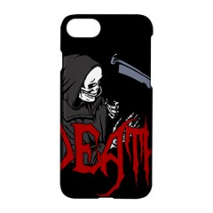 Death   Halloween Apple Iphone 7 Hardshell Case by Valentinaart