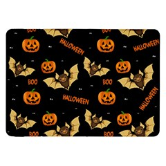 Bat, Pumpkin And Spider Pattern Samsung Galaxy Tab 8 9  P7300 Flip Case by Valentinaart