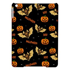 Bat, Pumpkin And Spider Pattern Ipad Air Hardshell Cases by Valentinaart